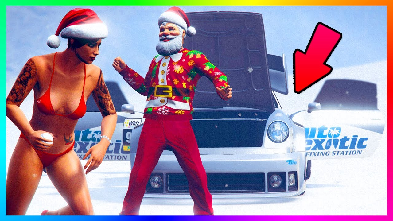 GTA ONLINE NEW CHRISTMAS DLC 2016 CONTENT - SNOW IS HERE, FREE GTA ...