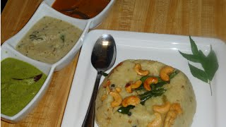 Khara Pongal Recipe / Ven Pongal Recipe in tamil / வெண் பொங்கல்
