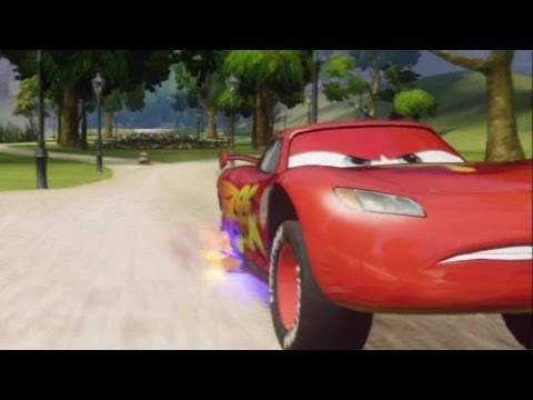 CARS ALIVE ! Cars 2 Gameplay - Racing with Lightning McQueen in London