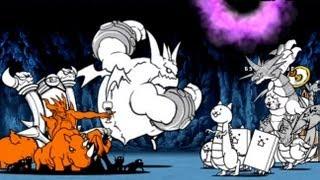 Repeat youtube video にゃんこ大戦争【解体ショー洞窟】マグロ海域 ぶんぶん先生 ニャンダム 攻略 battle cats
