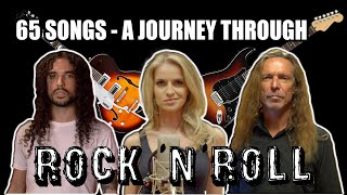 65 Songs  A Journey Through Rock 'N' Roll | Ten Second Songs