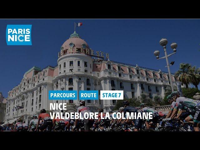 Paris-Nice 2021 - Découvrez l'étape 7
