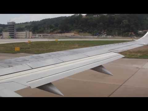Сочи Санкт Петербург Взлет UTair, Boeing 737 Takeoff, AER, Sochi International Airport
