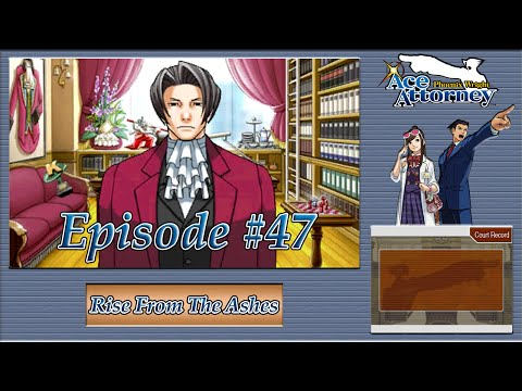 Phoenix Wright: Ace Attorney - Car Park Crime Scene, Prosecutors Office - Episode 47