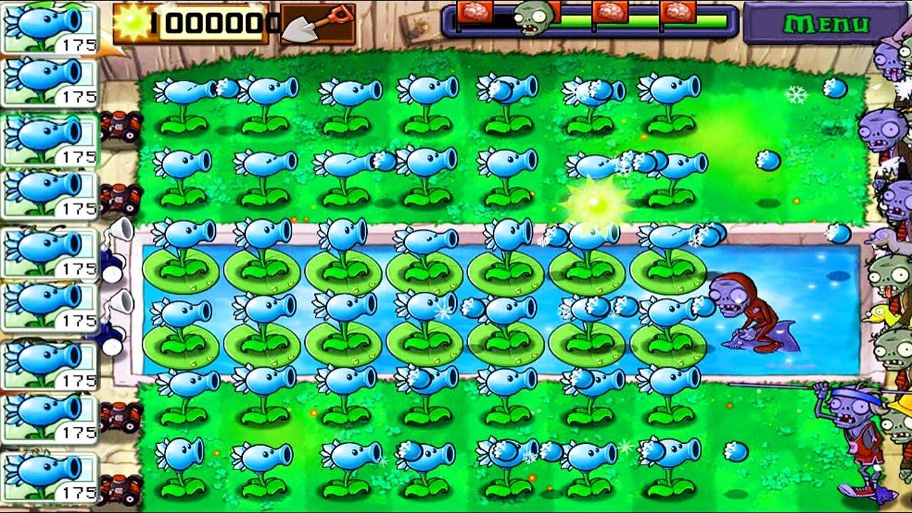 Best strategy Plants vs Zombies | 99+ Snow Pea Zombie Nimble Zombie Quick