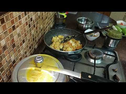 Special Indian morning lunch routine 2017 in hindi / lunch recipes india / Daily launch routine