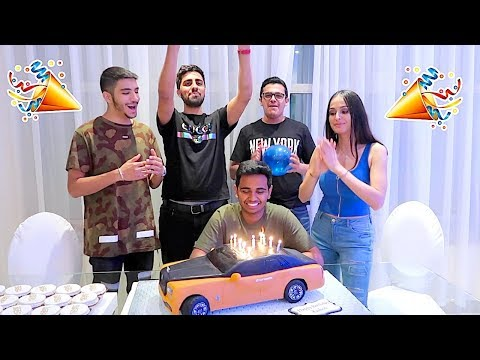 DUBAI'S RICHEST KID - 17TH BIRTHDAY SURPRISE !!!