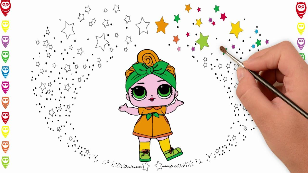 Lol Baby 5 Camping Girl Lol Bebek 5 Kampçı Kız Boyama Ve çizim Sayfası çocuklar Için Nasıl Yapılır