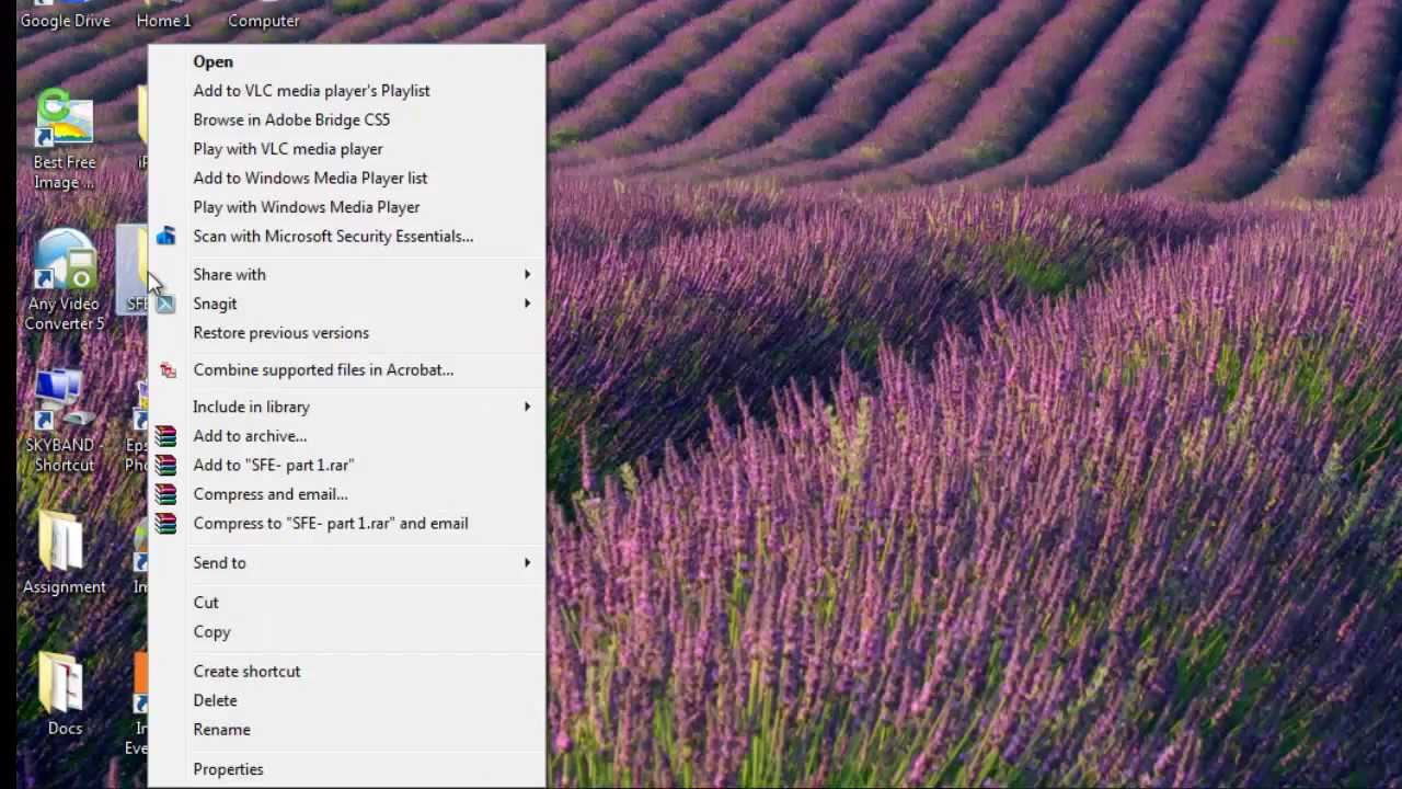 How to Edit Context Menu in Windows