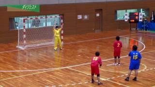 H26年 第23回JOCハンドボール大会秋田VS兵庫(ダイジェスト)(女子予選リーグ)