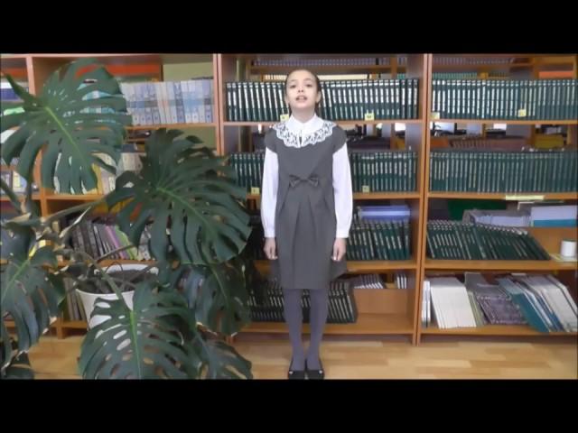 Изображение предпросмотра прочтения – ЗаринаХакимова читает произведение «Некрасивая девочка» Н.А.Заболоцкого