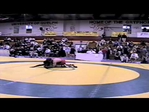 2002 Senior National Championships: 84 kg Travis Cross vs. Owen Dawkins