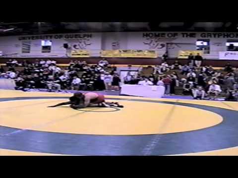 2002 Senior National Championships: 84 kg Travis Cross vs. Owen Dawkins