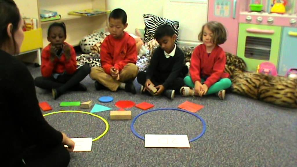 reception 2d and 3d shapes - YouTube