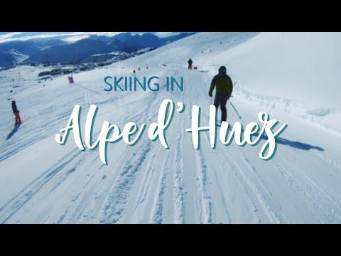 Alpe d'Huez: Ski travel video 2018