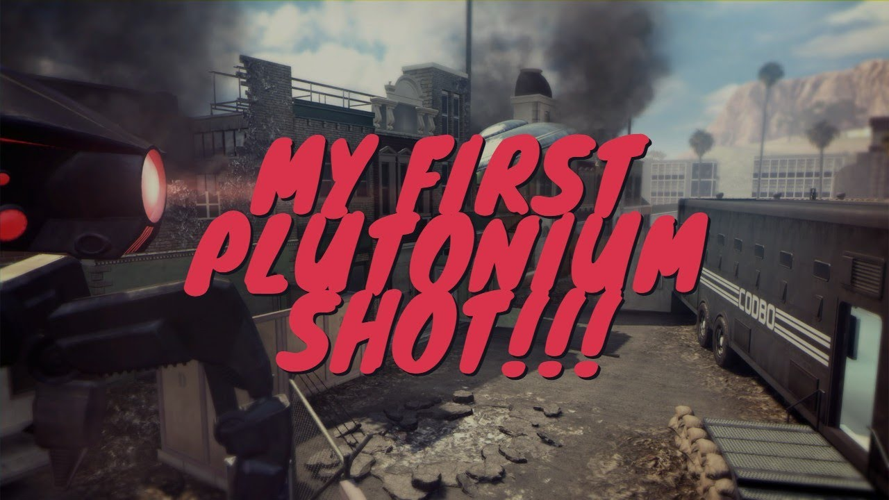 MY FIRST BO2 PLUTONIUM SHOT (STUDIO WALLBANG)