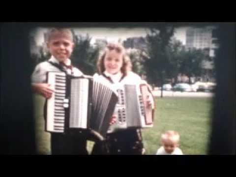 Accordian Girl Milwaukee 1950's