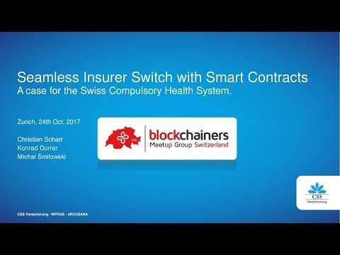 CSS Versicherung - Seamless Insurer Switch with Smart Contracts