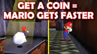 This mod made Mario so fast he clips through walls [EVERY COIN MAKES MARIO FASTER mod!]