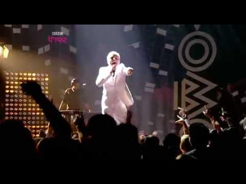 Mr Hudson   @ MOBO Awards  White Lies & Supernova