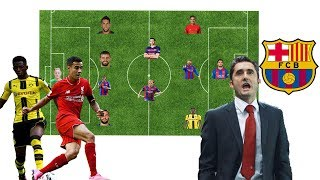 Barcelona Best Possible Lineup 2017/18 With Philippe Coutinho and Ousmane Dembele 2017