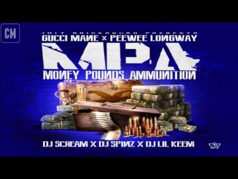 Gucci Mane & PeeWee Longway - Money, Pounds, Ammunition [FULL MIXTAPE + DOWNLOAD LINK] [2013]