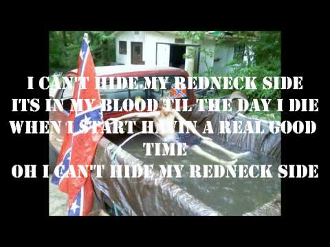 Justin Moore- Redneck Side With Lyrics