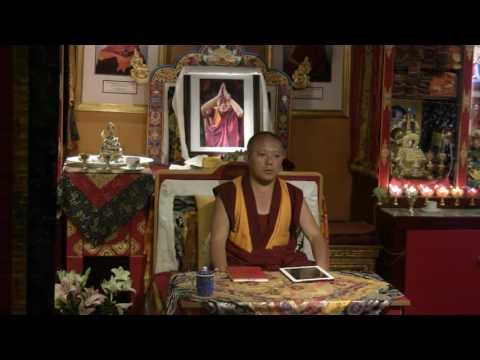 Awarenesses and Knowers with Geshe Ngawang Tenley (8/24/2016)