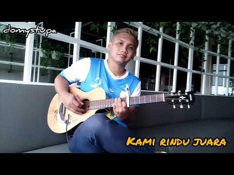 #rindujuara RINDU JUARA - ANTHEM BARITO PUTRA (fingerstyle Version)