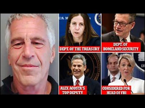 Epstein's Lawyers Reveal 5 Former Prosecutors Who Approved 2008 Plea Deal W/ Ties To The Trump Admin