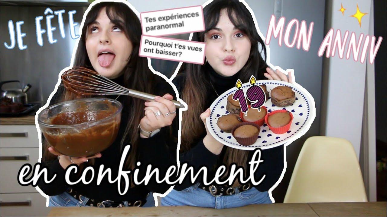 CHIT CHAT : gâteaux d'anniv en confinement !