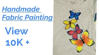 Fabric Painting Using Acrylic Paint