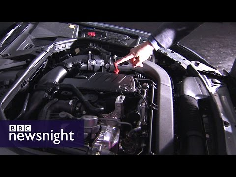Rigging car emissions: Our 2014 report - Newsnight