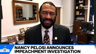 """Rep. Al Green Says """"Our Democracy Is At Risk"""" If Democrats Do Not Impeach Trump"""