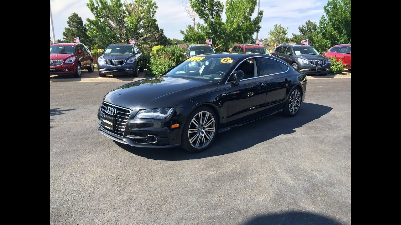 2012 audi a7 3 0t quattro prestige start up in depth tour and review youtube
