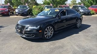 2012 audi a7 3 0t quattro prestige start up in depth tour and review