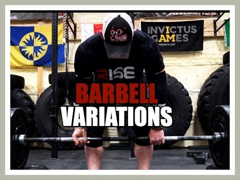 FAVORITE Barbell Variations for the BIG 4 STRENGTH Movements!