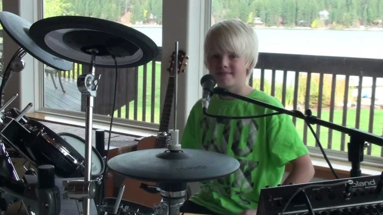 Gym Class Heroes: Stereo Hearts ft. Adam Levine Cover by 10 yr old Carson Lueders