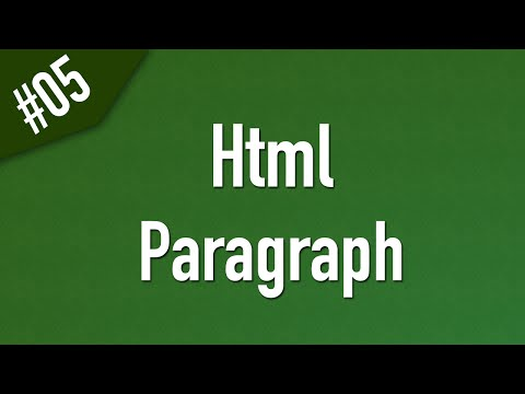 Learn Html In Arabic #05 - Paragraph