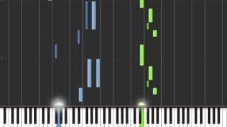 Stromae Formidable, piano solo synthesia