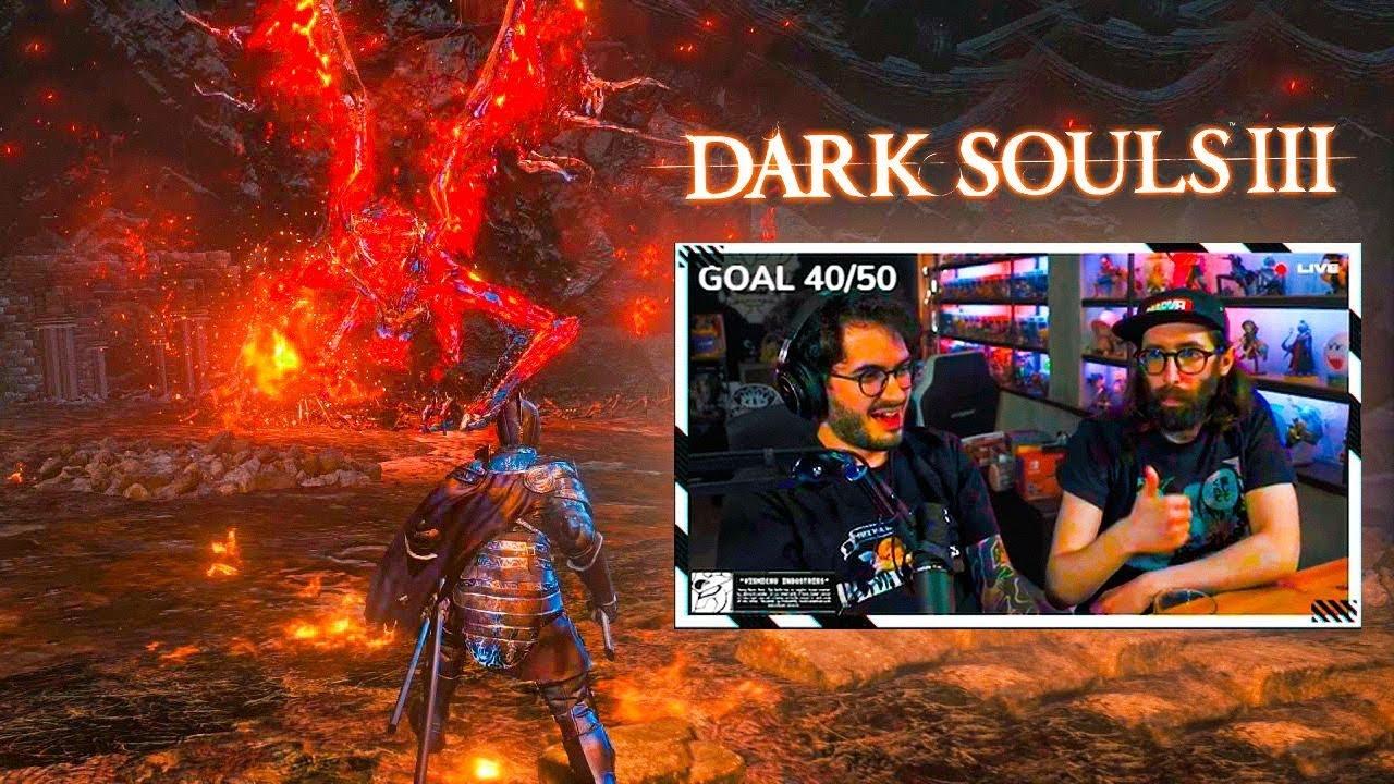 HAS SIDO INVADIDO POR EL ESPIRITU LUMINOSO BILL   Dark Souls III ep.16