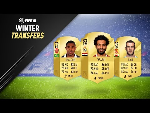 JANUARY TRANSFERS! CONFIRMED DEALS & RUMOURS! w/ SALAH, BALE & MORE! | FIFA 18 ULTIMATE TEAM