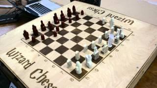 Wizard Chess demo at CMU Build18 2015