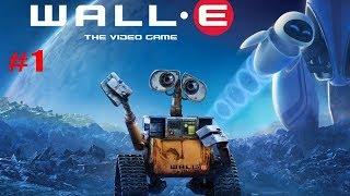 ВАЛЛ-И приключения маленького Робота #1 Песчаная Буря Детское игровое Видео
