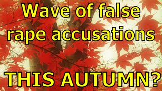 Wave of false rape claims this autumn in Germany? (MGTOW)
