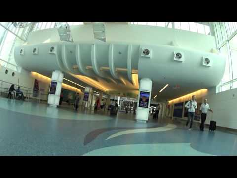 Jacksonville International Airport: Inside From The Plane To The Baggage Claim 2016