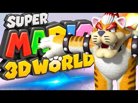 BOWSER DEVIENT UN CHAT ?! | Super Mario 3D World FR #16