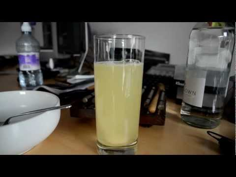 Water-soluble Vitamin C Dissolving In Water