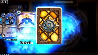Paragon of Light - The Witchwood Hearthstone rare card pack opening