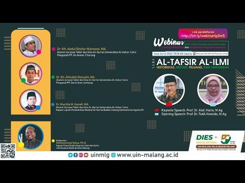 Webinar Pusat Studi Integrasi Islam Dan Sains UIN Malang Historisitas Metode, Peluang, Dan Tantangan